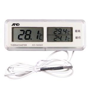 冷蔵庫温度計 最高最低温度計 外部センサ温度計 AD-5656A 〒郵送可¥320|imanando