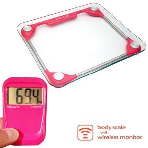 体重計:SALUTEワイヤレス体重計BH-2580|imanando
