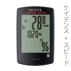 ワイヤレスコンピューター:CAT EYEケイデンスつきサイコンCC-PA400B〜送料無料|imanando