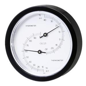 温湿度計:小型アナログ温度湿度計(壁掛)CR-58C〜〒郵送可¥320|imanando