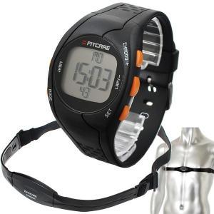 心拍計:胸ベルト&腕時計式心拍計「FITCARE」FC002〜郵送可¥500|imanando