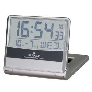 電波時計 ソーラー シースルー 車用時計 Fizz-860 デジタル 〒郵送可¥320|imanando