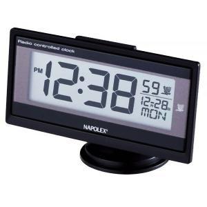 車用時計 ナポレックス デジタル 電波時計 Fizz-960 車載用 〒郵送可¥320|imanando
