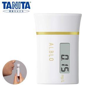 アルコールチェッカー タニタ アルコール検知器 HC-213M ホワイト 〒郵送可¥320|imanando