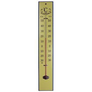 寒暖計:45cm木製温度計(壁掛)〜〒郵送可¥320