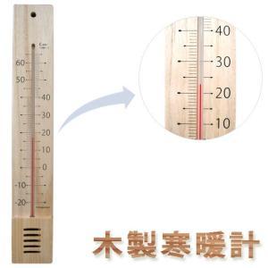 温度計:木製寒暖計(壁掛)〜〒郵送可¥500 imanando