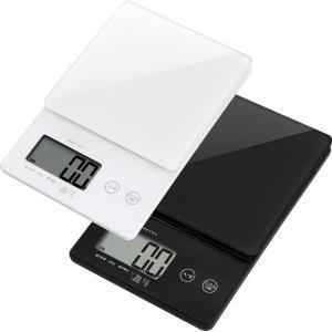 キッチンスケール 0.1g 高精度 デジタルスケール KS-245 ホワイト|imanando
