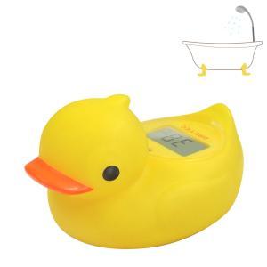 湯温計 お風呂 デジタル温度計 O-238 アヒル ガーくん 〒郵送可¥320