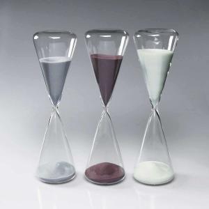 砂時計:シンプルな60分計のガラス砂時計O1042|imanando