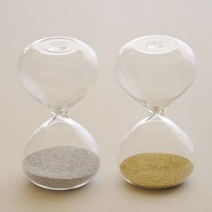 砂時計:シンプルな1分計/2分計のガラス砂時計〜〒郵送可¥320|imanando