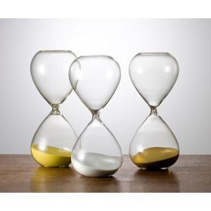 砂時計 シンプル 60分計 ガラス ST-60 白 廣田硝子 送料無料|imanando