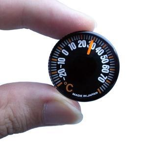 500円玉サイズ 超小型温度計 アナログ 〒郵送可¥320|imanando