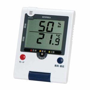 熱中症計&季節性インフルエンザ計つきデジタル温湿度計TD-8188〜郵送可¥320 imanando