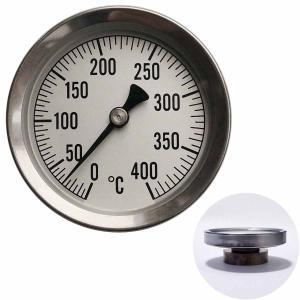 温度計 薪ストーブ 高温 ピザ窯 アナログ温度計 400℃ 〒郵送可¥320|imanando
