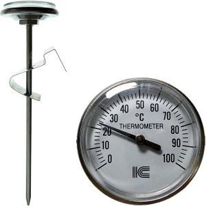 料理温度計 調理用温度計 アナログ 鍋 0〜100℃ サーモ830 〒郵送可¥320|imanando