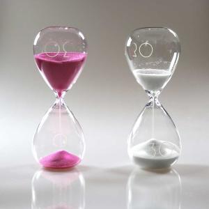 砂時計:MASCAGNI 30分計のガラス砂時計|imanando