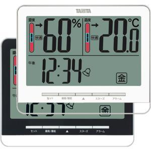 温湿度計:タニタ製デジタル温度・湿度計(壁掛・卓上)TT-538|imanando