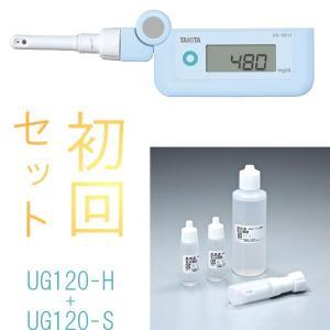 尿糖計:タニタ製デジタル尿糖計本体+センサーカートリッジセットUG-120〜取り寄せ:送料無料|imanando