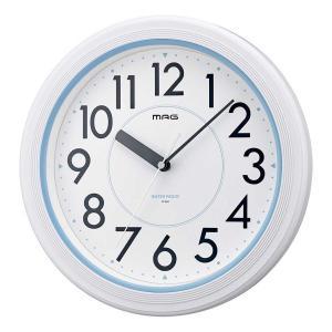 防水時計 バスクロック Φ約28cm 大型時計 ノア精密 防塵 アクアガード|imanando