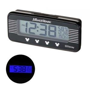 車用時計 電波時計 ミッキー シルエット デジタル WD-395 車載用 〒郵送可¥320|imanando