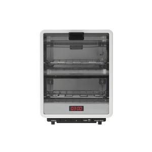 オーブントースター ±0 XKT-V120(W)ホワイト|imarketweb