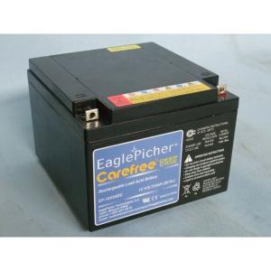 メンテナンスフリー イーグルピッチャー(EaglePicher) ディープサイクルバッテリー CF12V24DC 送料無料|imarketweb