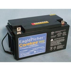 メンテナンスフリー イーグルピッチャー(EaglePicher) ディープサイクルバッテリー CF12V65DC 代引不可 送料無料|imarketweb