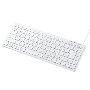 隣り合うキーを押しにくいアイソレーションタイプのUSBキーボードです。テンキーなしの省スペース設計。...