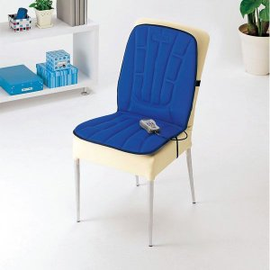 マッサージ器 ツインバード シートマッサージャー ブルー 椅子やベッドがマッサージ機に早変わり 電動マッサージ器|imarketweb
