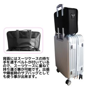 購入特典付き メイクボックス Lサイズ 大容量 仕切り板調節可能 コスメボックス 化粧品バッグ メイク 化粧品 コスメ 持ち運び 収納ケース 小物入れ Sunruck|imarketweb|10