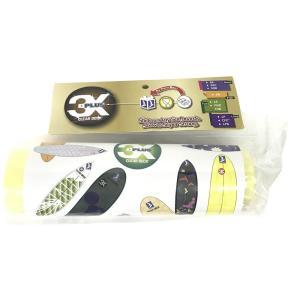 3X+PLUS クリアデッキ FNB ファンボード用テールデッキ含まず(大判など5枚入り) パッド グリップ サーフィン 粘着 貼る 汚れない サーフ 半透明|imashun-stores