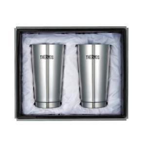 THERMOS サーモス 真空断熱タンブラー 2Pセット JMO-GP2 マグカップ コップ 保温 ティー ビールグラス お酒 保冷 コーヒー マグ お茶|imashun-stores