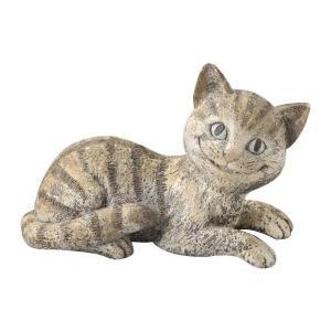 アリスオーナメント チシャ猫(L) SR-0755 おしゃれ 玄関 ねこ かわいい お庭 ガーデニング 園芸 ガーデンオーナメント|imashun-stores