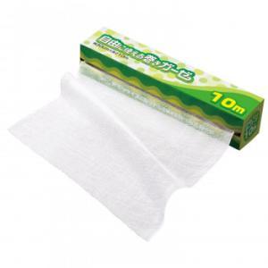 自由に使える巻きガーゼ 10M マスク こし布 赤ちゃん 蛍光剤不使用 綿100% 料理 沐浴 カット可能 介護 蒸し布 ロール式 ベビー|imashun-stores