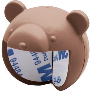 シリコン製のコーナーガード 4個組 ケガ防止 幼児 子ども 簡単取付 シリコン 机 クマ コーナークッション 保護 赤ちゃん ベビー 角ガード|imashun-stores