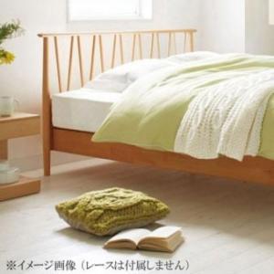 フランスベッド 掛けふとんカバー KC エッフェ プレミアム  ダブルサイズ ホック テープ スタンダード ベーシック 簡単 光沢 寝具 シンプル 便利|imashun-stores