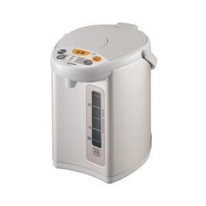 象印 マイコン沸とう電動ポット3L CD-WY30-HA 6201-011 保温 おしゃれ シンプル 使いやすい 便利 湯沸し 見やすい お茶|imashun-stores