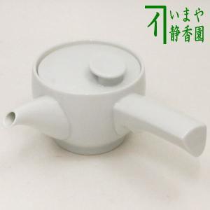 「急須」 白磁茶和急須 カップ網付 約300ml. 白山陶器製 imaya-storo