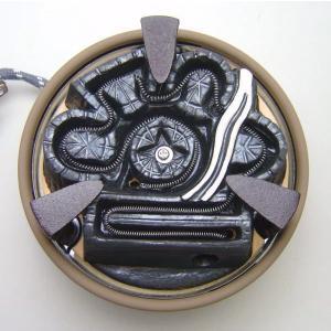 「茶器/茶道具 電熱器」 野々田式 炭型電熱器(炭型ヒーター) 風炉用 500W 中間切換スイッチ付 (定番)|imaya-storo