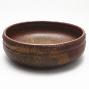 茶道具 炭道具 灰道具 灰器 備前焼 炉用 正彦作|imaya-storo