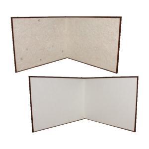 「茶道具 風炉先」利休形 和紙貼(紅葉) 裏:白 炉用・風炉用兼用 桑縁/縁角 高2尺4寸 全高73cm|imaya-storo