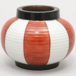 茶道具 蓋置 提灯 紅白 高野昭阿弥作 和楽庵 imaya-storo
