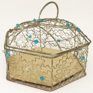茶道具 懐石道具 会席道具 六角籠網 六寸 菓子器としても使えます imaya-storo