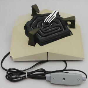 「茶器/茶道具 炉・置炉」 野々田式 炭型電熱器(炭型ヒーター)600W 炉用・置炉用 中間切換スイッチ付 (定番)