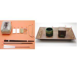 茶道具 香道具セット 桑香盆セット 炉 風炉用 表千家用 女桑国産材使用|imaya-storo