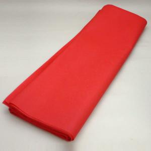 茶道具 毛氈 もうせん 不織布 赤色 メルトン製 約縦0.9m×幅1.8m|imaya-storo