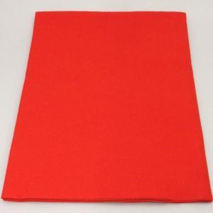 茶道具 毛氈 もうせん 不織布 赤色 メルトン製 半畳約縦0.9m×幅0.9m|imaya-storo