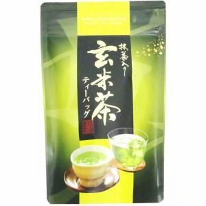 日本茶 緑茶 ティーパック ティーバッグ 抹茶入り 玄米茶 ティーバッグ 20個入り|imaya-storo