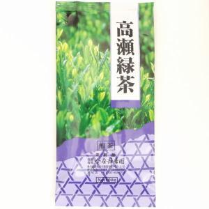日本茶 緑茶 香川茶 香川県産 高瀬茶 紫色 角袋  100g|imaya-storo