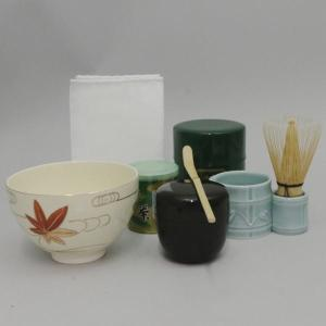 茶道具 茶道具セット 入門者8点セット 点て出し8点セット ギフト抹茶茶碗セット|imaya-storo